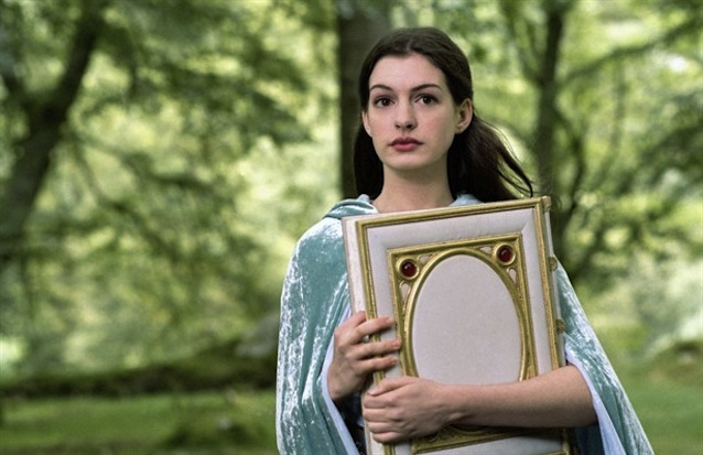 Anne Hathaway as Ella Ella Enchanted picture image