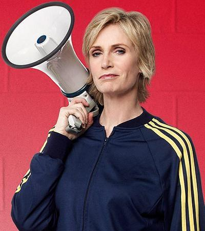 Jane Lynch as Coach Sue Sylvester Glee picture image