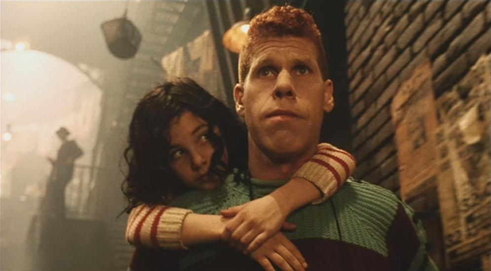 Ron Perlman as One and Judith Vittet as Miette The City of Lost Children picture image