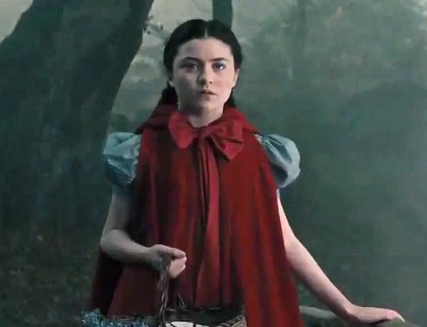 Lilla Crawford as Little Red Riding Hood Into the Woods Picture image