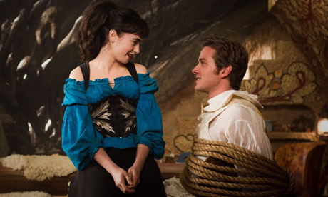 Lily Collins as Snow White and Armie Hammer as the Prince Andrew Alcott Mirror Mirror picture image