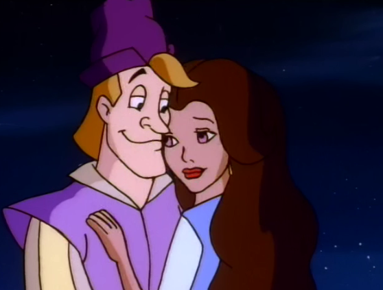Esmeralda and Pierre The Secret of the Hunchback picture image