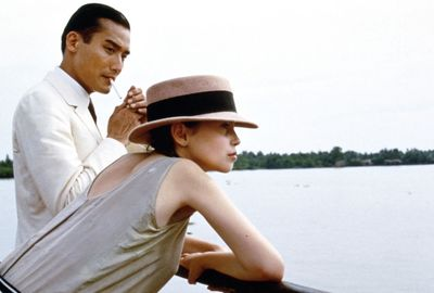 Jane March and Tony Leung Ka-fai in The Lover (L'Amant) picture image