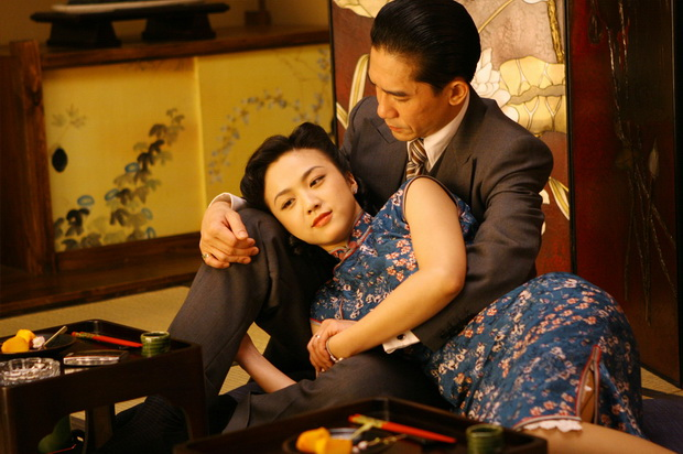 Tang Wei as Wong Chia-chi and Tony Leung Chiu-Wai as Mr. Yee in Lust/Caution picture image