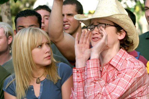 Hilary Duff as Sam & Dan Byrd as Carter A Cinderella Story 2004 picture image
