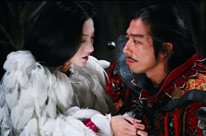 Hiroyuki Sanada as General Guangming & Cecilia Cheung as Qingcheng The Promise picture image review