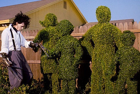 Johnny Depp as Edward Scissorhands Edward Scissorhands picture image