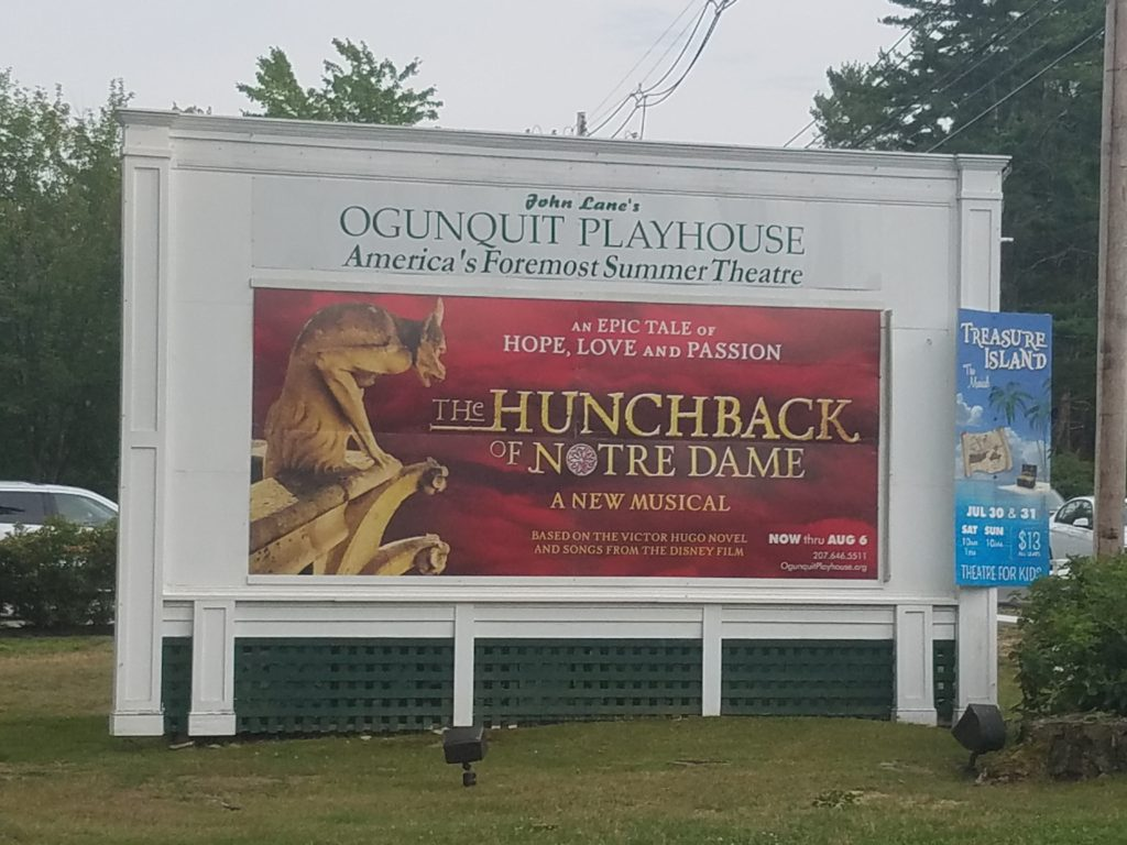 Hunchback of Notre Dame at Ogunquit Playhouse Maine picture image