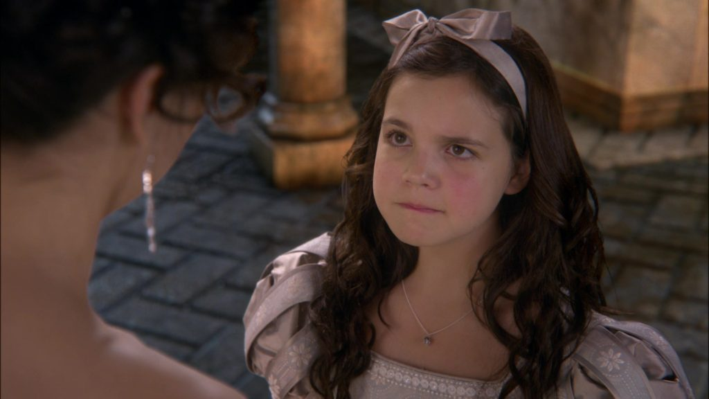 Bailee Madison as Young Snow White, ABC's Once Upon a Time, The Stable Boy picture image