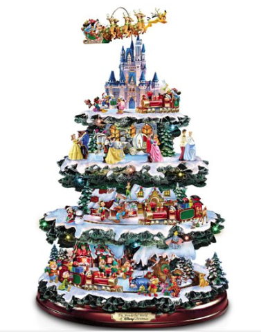 Disney Tabletop Christmas Tree picture image