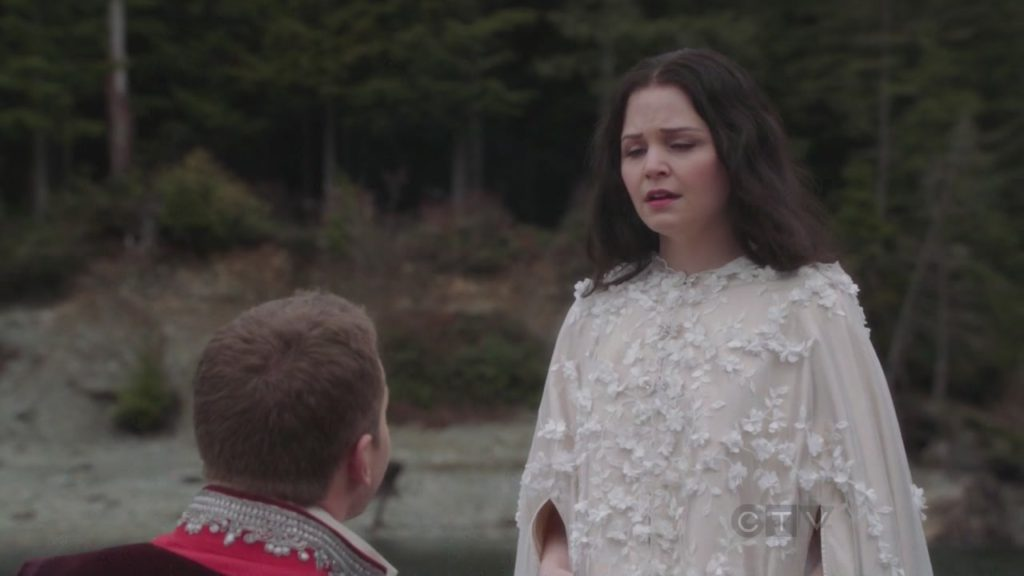 Ginnifer Goodwin as Snow White & Josh Dallas as Prince Charming ABC's Once Upon a Time, Land without Magic picture image