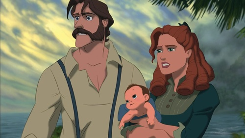 Tarzan Parents picture image