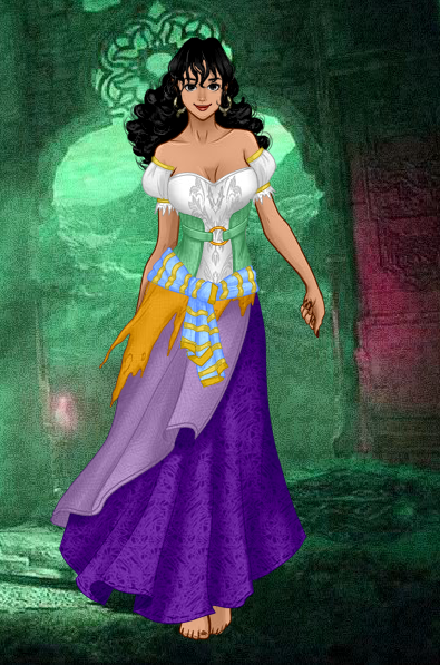Esmeralda composed by Angelique DuFleur using Diving Doll Dark Mage Creator picture image