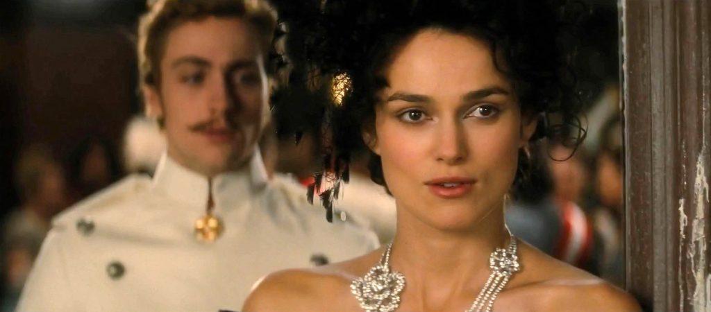 Aaron Johnson as Count Vronsky & Keira Knightley Anna Karenina 2012 picture image