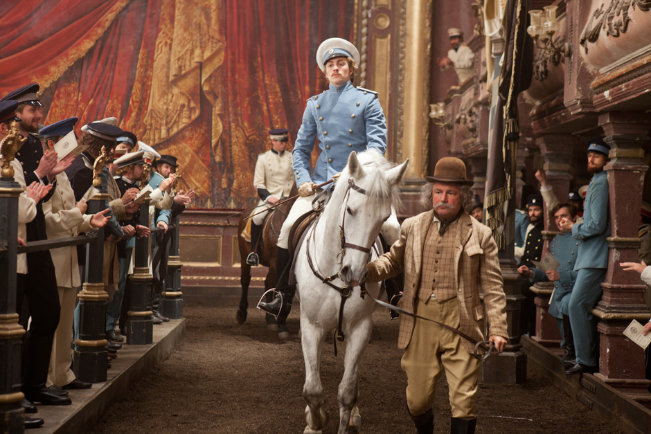 Aaron Johnson as Count Vronsky Anna Karenina 2012 picture image