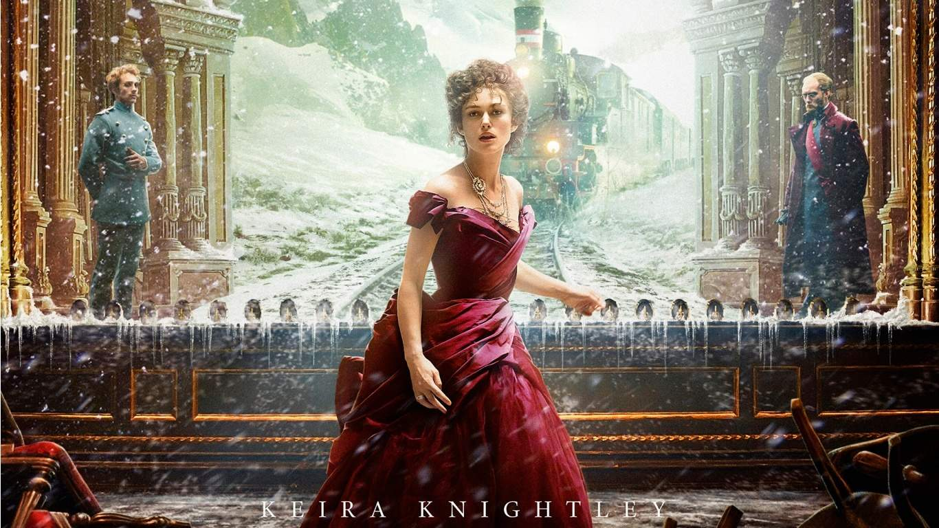 Keira Knightley as Anna Karenina 2012 picture image