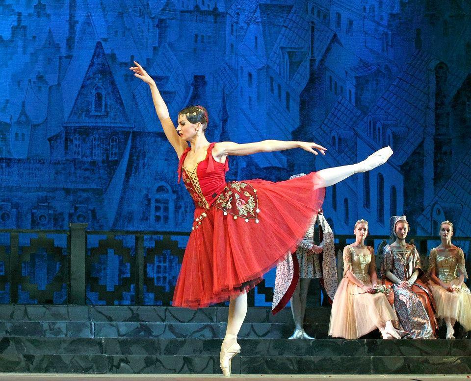 Alexandra Timofeeva as Esmeralda, La Esmeralda Bellet, Kremlin Ballet Company, Moscow picture image