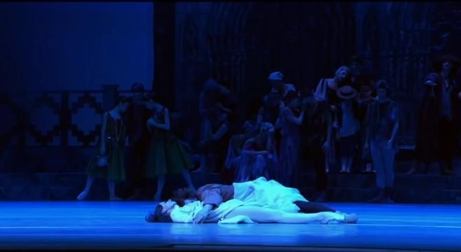 Esmeralda & Quasimodo, La Esmeralda, Kremlin Ballet Company, Moscow picture image