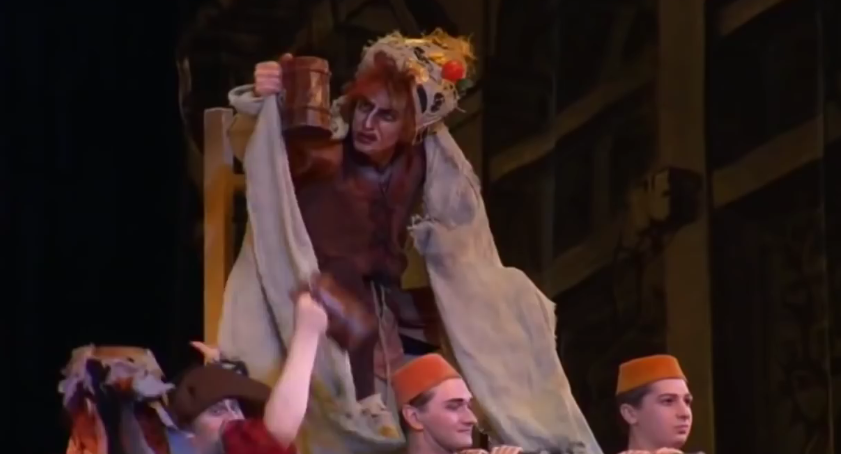 Quasimodo as The Pope of Fools, Kremlin Ballet Company, Moscow picture image