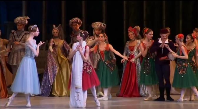 Esmeralda & Fleur de Lys, La Esmeralda, Kremlin Ballet Company, Moscow picture image