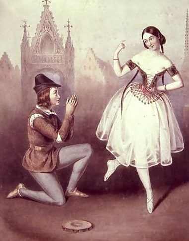 Carlotta Grisi and Jules Perrot, La Esmeralda picture image