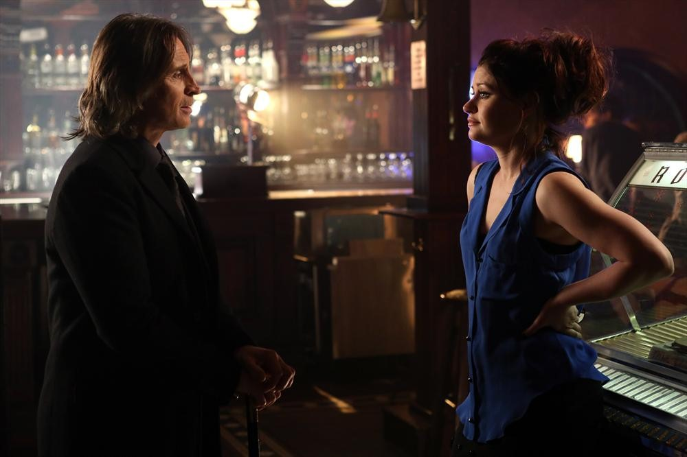Robert Carlyle as Rumplestiltskin & Emilie de Ravin as Lacey Season 2 Episode 19, Lacey ABC Once Upon a Time picture image