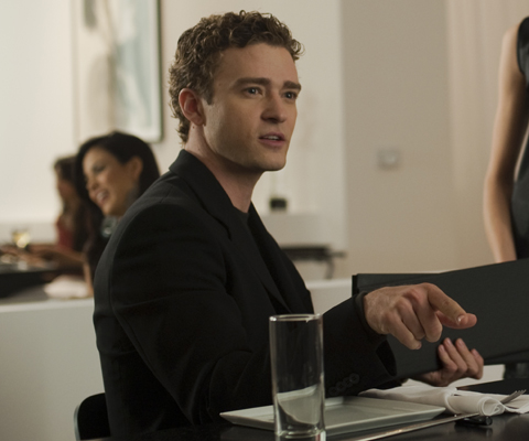 Justin Timberlake as Sean Parker, The Social Network picture image