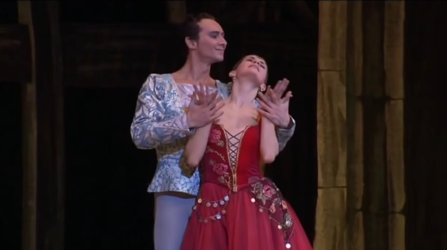 Esmeralda & Phoebus, La Esmeralda Kremlin Ballet Company, Moscow picture image