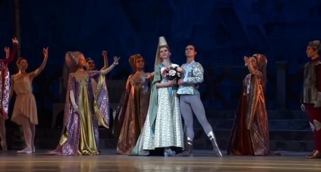 Phoebus & Fleur de Lys, La Esmeralda, Kremlin Ballet Company, Moscow picture image