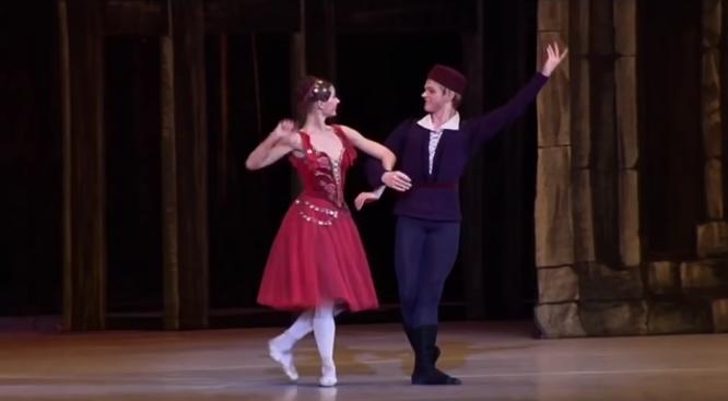 Esmeralda & Gringoire, La Esmeralda, Kremlin Ballet Company, Moscow picture image