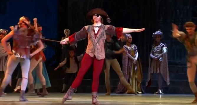 Clopin, La Esmeralda, Kremlin Ballet Company, Moscow picture image