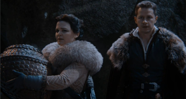Ginnifer Goodwin as Snow White & Josh Dallas as David Once Upon a Time Season 04 Episode17 Best Laid Plans picture image