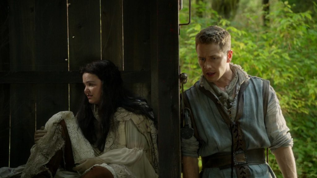 Ginnifer Goodwin as Snow White and Josh Dallas as David Once Upon a Time Season 6 Episode 7 Heartless picture image