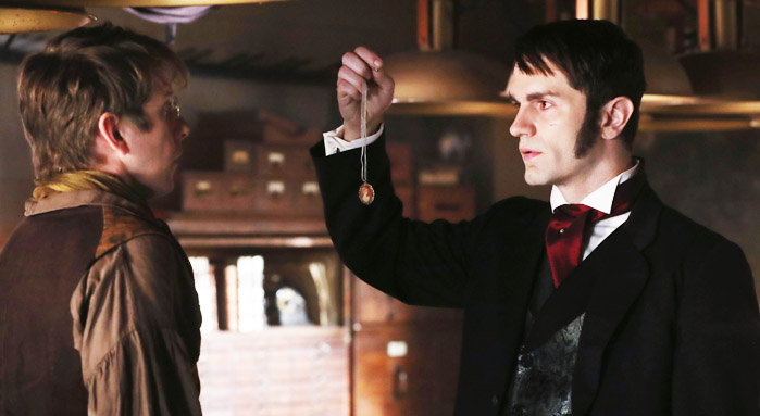 Hank Harris as Dr. Henry Jekyll & Sam Witwer as Mr. Hyde Once Upon a Time Season 6 Episode 4, Strange Case picture image