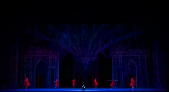Lighting of La Esmeralda Kremlin Ballet Company, Moscow picture image