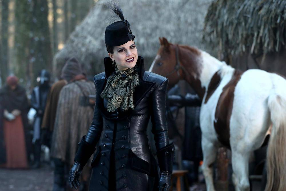 Lana Parrilla as Regina Once Upon a Time Season 6 Episode 14 Page 23 picture image