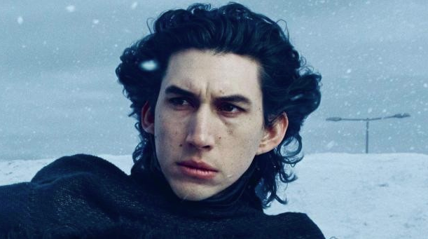 Adam Driver as Kylo Ren, Star Wars The Force Awakens picture image