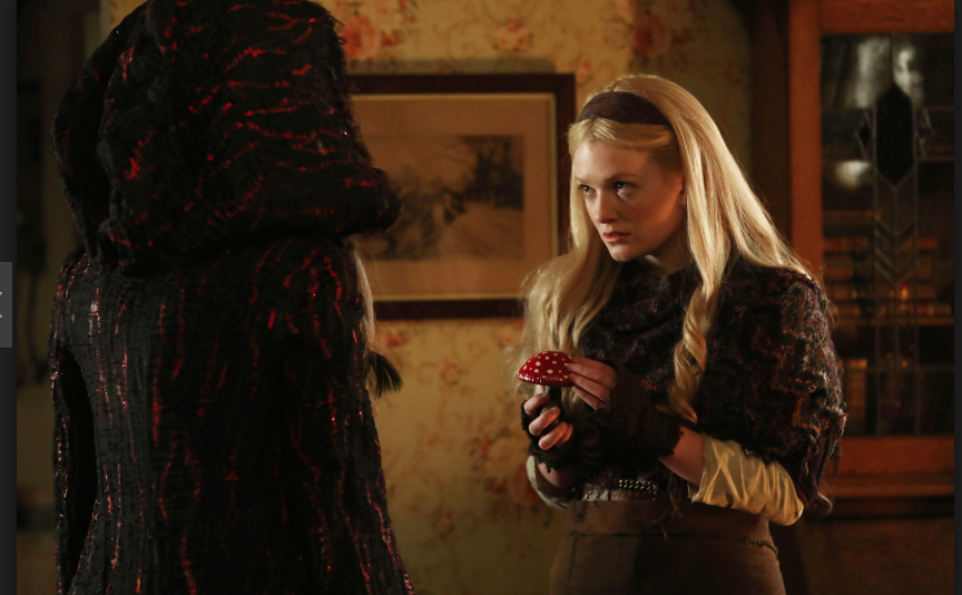 Meegan Warner a Rapunzel & Emma Booth as Gothel Once Upon a Time Season 7 Episode 9 One Little Tear picture image