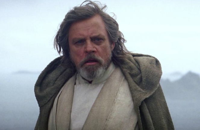 Mark Hamill as Luke Skywalker, Star Wars The Force Awakens picture image