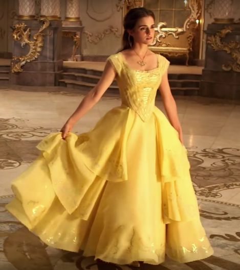 Belle S Yellow Gown From 2017 Beauty And The Beast The Hunchblog Of Notre Dame