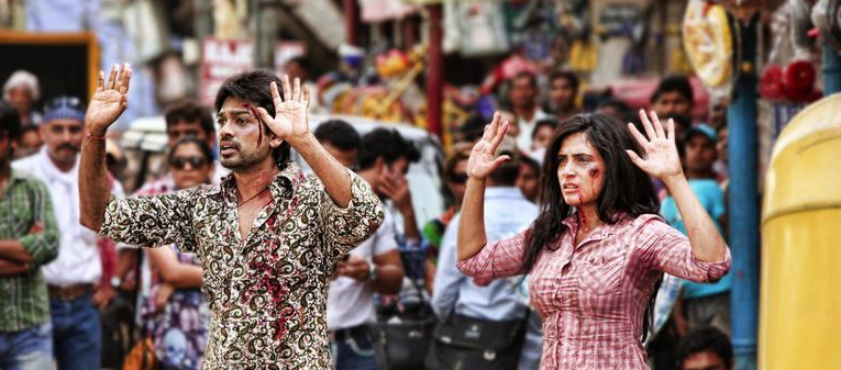 Nikhil Dwivedi as Munna & Richa Chadda as Babu Tamanchey picture image