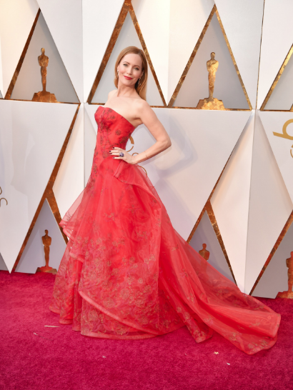 Leslie Mann Zac Posen Oscars 2018 picture image