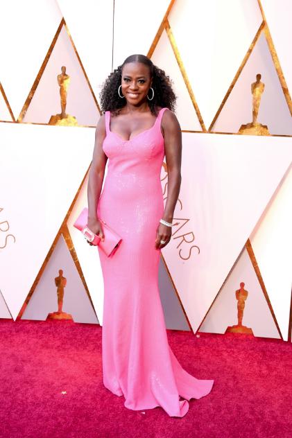 Viola Davis in Michael Kors Oscars 2018 picture image