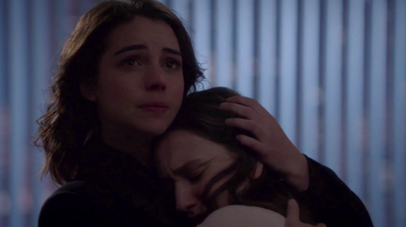 Adelaide Kane as Drizella & Yael Yurman as Anastasia Season 7 Episode 15 Sisterhood picture image
