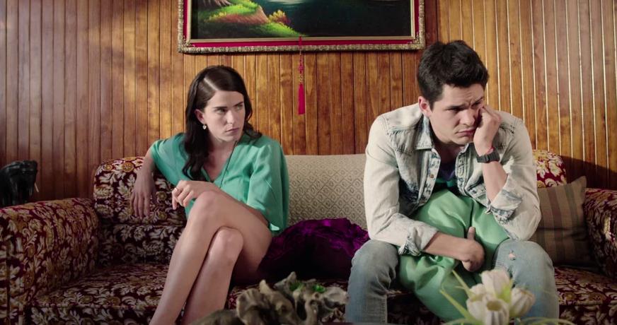 Karla Souza as Maru and Ricardo Abarca as Renato ¿Qué Culpa Tiene el Niño? picture image
