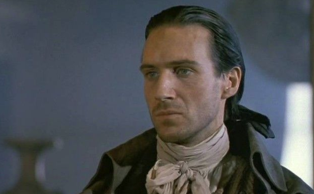Ralph Fiennes as Heathcliff from Wuthering Heights picture image