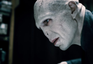 Ralph Fiennes as Voldemort from the Harry Potter franchise picture image