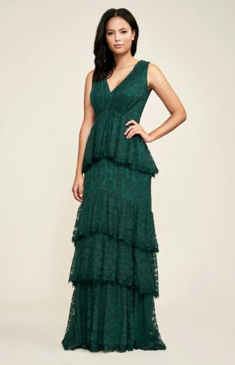 Tadashi Shoji Marquis Evening Gown picture image