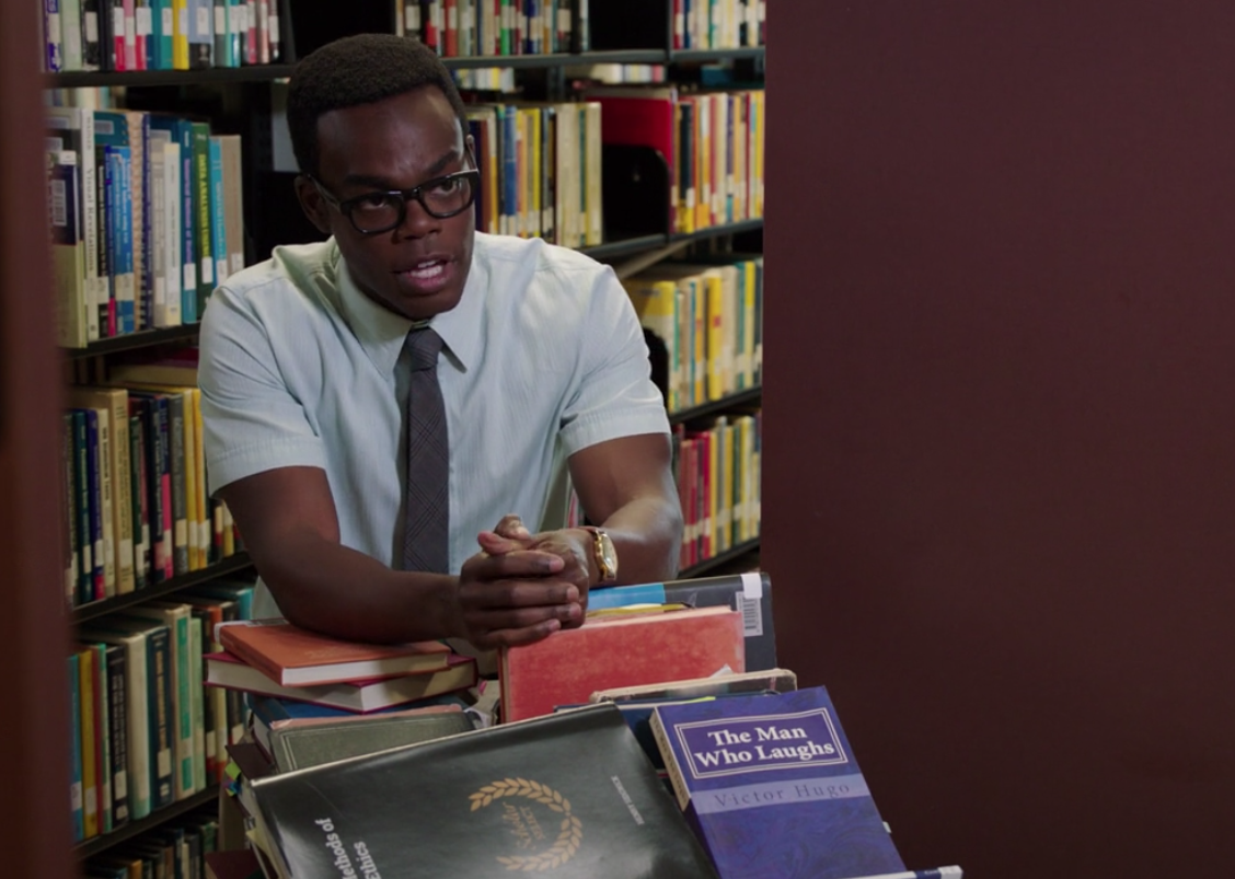 William Jackson Harper as Chidi Anagonye The Good Place Season 3 Episode 1 Everything is Bonzer picture image