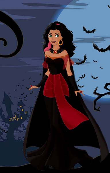 Vamp Vampire Esmeralda Halloween 2018 picture image